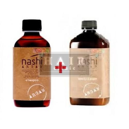 Nashi ARGAN COMBO Šampón 200ml + Kondic.200ml