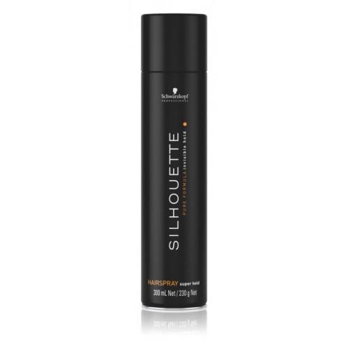 Silhouette čierny SupHOLD HairSpray 300ml