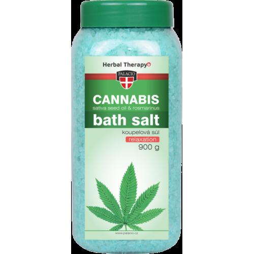 Soľ do kúpeľa Cannabis Rosmarinus 900g